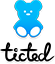 Logo teddy text